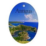 Antigua Ornament (Oval)