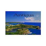 Antigua Rectangle Magnet (100 pack)