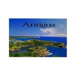 Antigua Rectangle Magnet