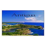 Antigua Sticker (Rectangle)
