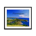 Antigua Framed Panel Print