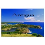 Antigua Large Poster