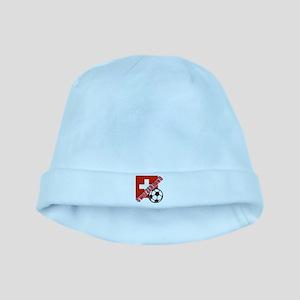 Switzerland Soccer Team baby hat