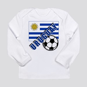 URUGUAY Soccer Team Long Sleeve Infant T-Shirt