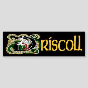 Driscoll Celtic Dragon Bumper Sticker