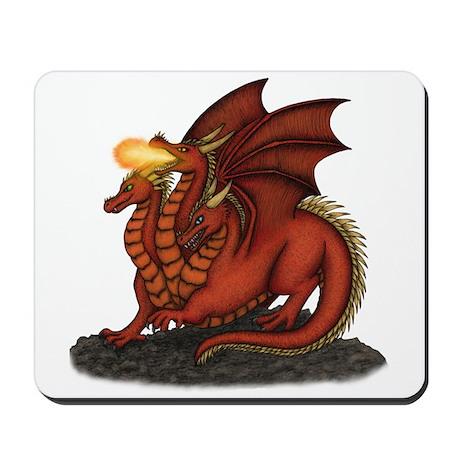 3-Headed Dragon Mousepad