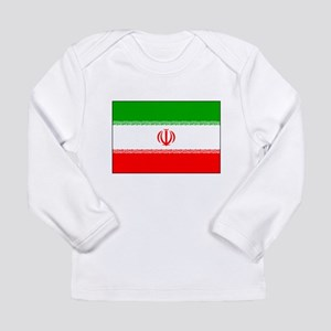 Flag of Iran Long Sleeve Infant T-Shirt