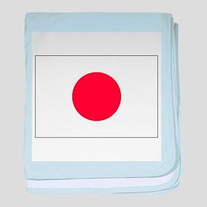 Rising Sun Flag of Japan baby blanket