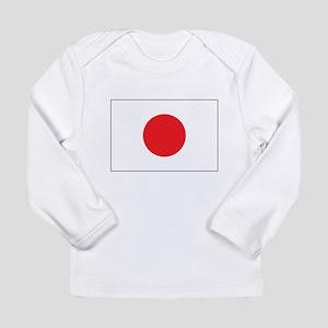 Rising Sun Flag of Japan Long Sleeve Infant T-Shir