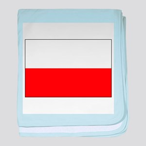 Three Cheers for Poland baby blanket