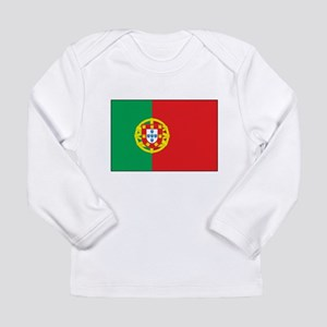 The Flag of Portugal Long Sleeve Infant T-Shirt