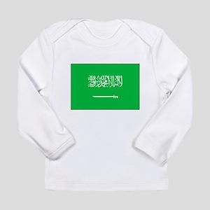 Saudi Arabian Flag Long Sleeve Infant T-Shirt