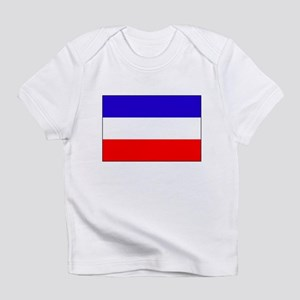 Serbia-Montenegro flag Infant T-Shirt