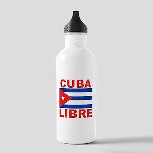 Cuba Libre Free Cuba Stainless Water Bottle 1.0L