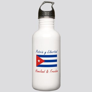 Patria y Libertad Cuba Stainless Water Bottle 1.0L