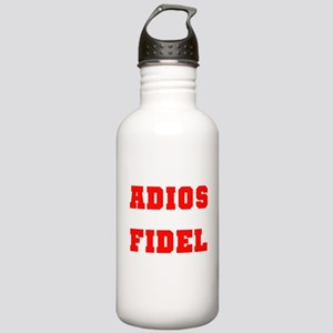 ADIOS FIDEL CASTRO OF CUBA Stainless Water Bottle