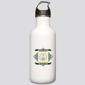 Rhode Island Flag Stainless Water Bottle 1.0L