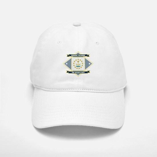 Rhode Island Flag Baseball Baseball Cap