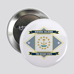 "Rhode Island Flag 2.25"" Button"