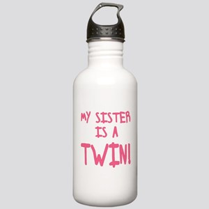 My Sister is a Twin Stainless Water Bottle 1.0L