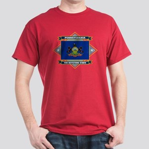 Pennsylvania Flag Dark T-Shirt