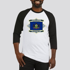 Pennsylvania Flag Baseball Jersey