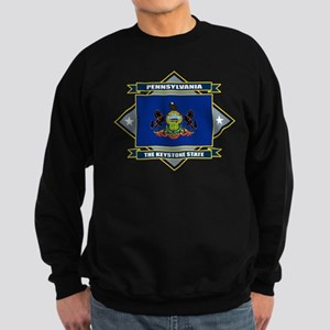 Pennsylvania Flag Sweatshirt (dark)
