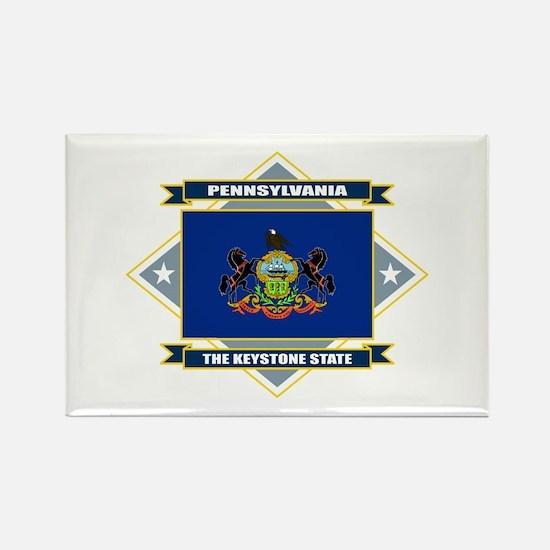 Pennsylvania Flag Rectangle Magnet