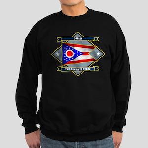 Ohio Flag Sweatshirt (dark)