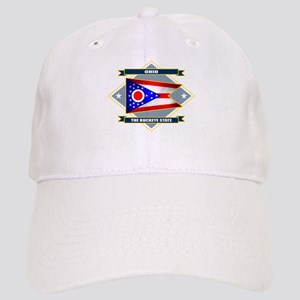 Ohio Flag Cap