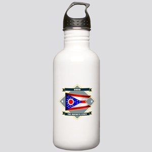 Ohio Diamond Stainless Water Bottle 1.0L