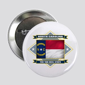 "North Carolina Flag 2.25"" Button"
