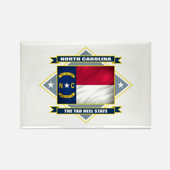 North Carolina Flag Rectangle Magnet