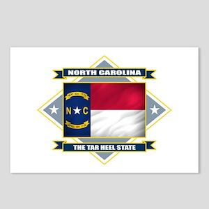North Carolina Flag Postcards (Package of 8)