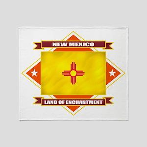New Mexico Diamond Throw Blanket