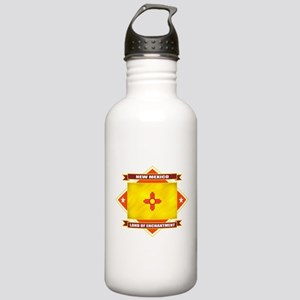 New Mexico Diamond Stainless Water Bottle 1.0L