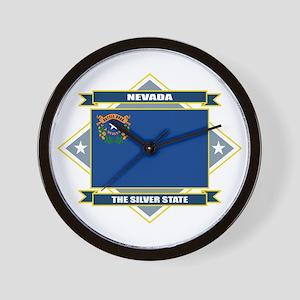 Nevada Flag Wall Clock
