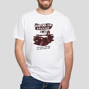 SANFORD & SON SALVAGE White T-Shirt