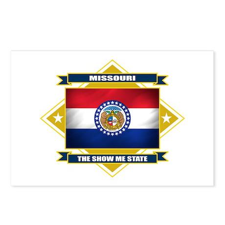 Missouri Flag Postcards (Package of 8)