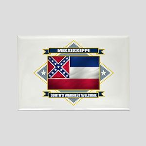 Mississippi Flag Rectangle Magnet