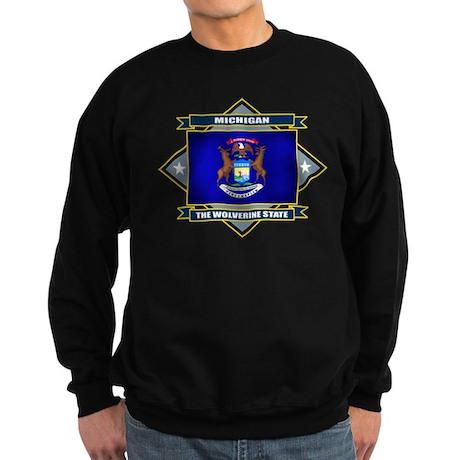 Michigan Flag Sweatshirt (dark)