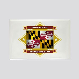 Maryland Flag Rectangle Magnet