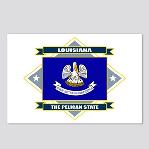 Louisiana Flag Postcards (Package of 8)