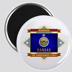 Kansas Flag Magnet