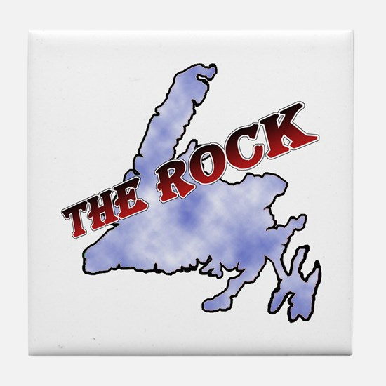 The Rock Sky Tile Coaster