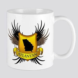 Banner, Heart & Wings - Atlan Mug