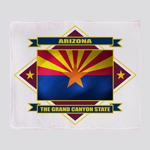 Arizona Flag Throw Blanket