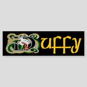 Duffy Celtic Dragon Bumper Sticker