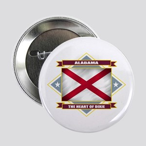 "Alabama Flag 2.25"" Button"