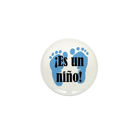 Es Un Nino! It's a Boy! Mini Button (100 pack)